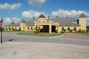 Florida retirement community club house