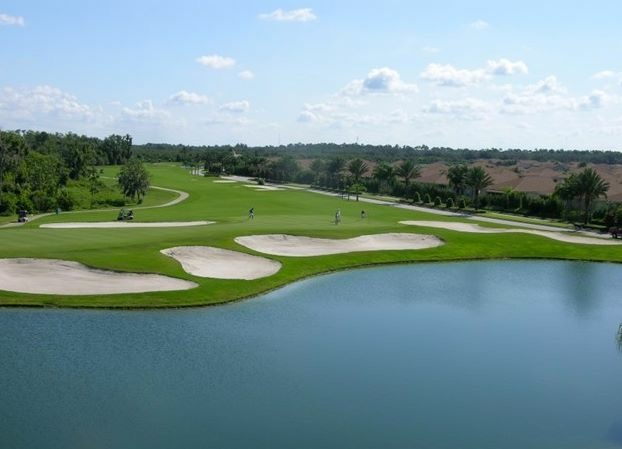 Central Florida retirement golf course