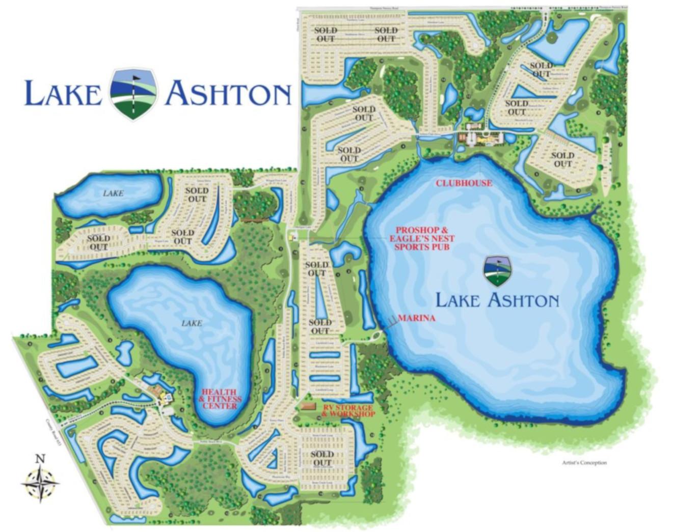 Florida Retirement Community Master Site Plan